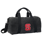NC State Duffel RICH COTTON Washed Finish Black