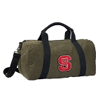 NC State Duffel RICH COTTON Washed Finish Khaki