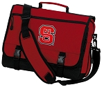 NC State Messenger Bag Red