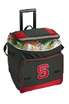 NC State Rolling Cooler Bag Red