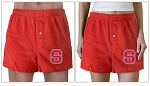 NC State Boxers Red