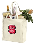 NC State Canvas Shopping Bag