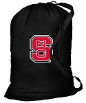 NC State Laundry Bag Black