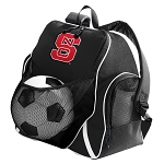 NC State Soccer Ball Backpack