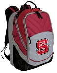 NC State Deluxe Laptop Backpack Red