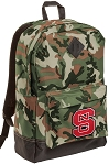 NC State Camo Backpack