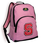 NC State Backpack Pink