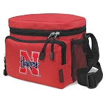 University of Nebraska Lunch Box Cooler Bag Insulated Red