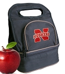 University of Nebraska Lunch Bag Black