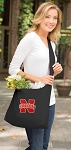 University of Nebraska Tote Bag Sling Style Black