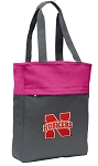 University of Nebraska Tote Bag Everyday Carryall Pink