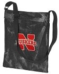 University of Nebraska CrossBody Bag COOL Hippy Bag