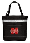University of Nebraska Insulated Tote Bag Black