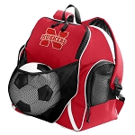 Nebraska Huskers Soccer Backpack
