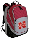 University of Nebraska Deluxe Laptop Backpack Red