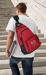 Nebraska Backpack Cross Body Style Red