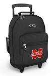 University of Nebraska Rolling Backpacks Black