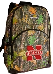 University of Nebraska Backpack REAL CAMO DESIGN