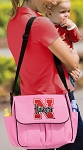 University of Nebraska Diaper Bag Official NCAA College Logo Deluxe