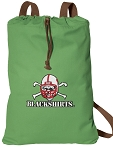 Nebraska Blackshirts Cotton Drawstring Bag Backpacks Cool Green