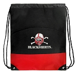 Nebraska Blackshirts Drawstring Bag Backpack Red