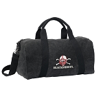 Nebraska Blackshirts Duffel RICH COTTON Washed Finish Black