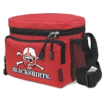Nebraska Blackshirts Lunch Box Cooler Bag Insulated Red
