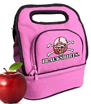 Nebraska Blackshirts Lunch Bag Pink