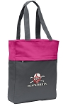 Nebraska Blackshirts Tote Bag Everyday Carryall Pink