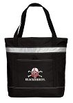 Nebraska Blackshirts Insulated Tote Bag Black