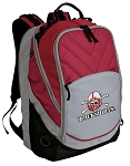 Nebraska Blackshirts Deluxe Laptop Backpack Red