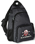 Nebraska Blackshirts Backpack Cross Body Style Gray
