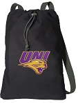 Northern Iowa Cotton Drawstring Bag Backpacks