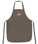 Official UNI Panthers Logo Apron Tan