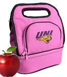 Northern Iowa Lunch Bag Pink