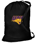 Northern Iowa Laundry Bag Black