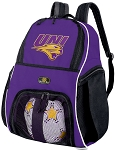 UNI University of Northern Iowa Soccer Ball Backpacks