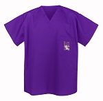 Northwestern University Scrubs Top Shirt-