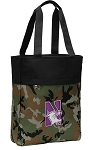 Northwestern University Tote Bag Everyday Carryall Camo