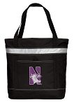Northwestern University Insulated Tote Bag Black