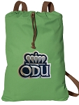 Old Dominion Cotton Drawstring Bag Backpacks Cool Green