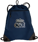 ODU Drawstring Backpack-MESH & MICROFIBER Navy