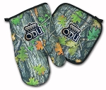 Old Dominion Real Camo Oven Mitt and Logo Potholder Set