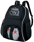 Old Dominion University Soccer Backpack or ODU Volleyball Bag For Boys or Girls