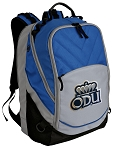 Old Dominion Deluxe Laptop Backpack Blue