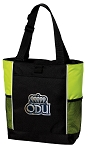 ODU Monarchs Tote Bag COOL LIME
