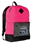 Old Dominion Backpack Classic Style HOT PINK