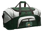 Large Ohio University Duffle Bag Green