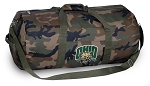 Ohio University Camo Duffel Bags