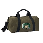 Ohio University Bobcats Duffel RICH COTTON Washed Finish Khaki